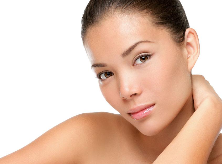 Facial spot treatment peeling